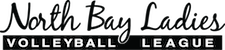 North Bay Ladies Volleyball League Logo